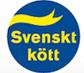 Svenskt kött logotyp