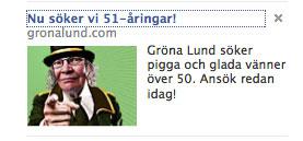 Gröna Lund rekryterar med sociala medier Facebook
