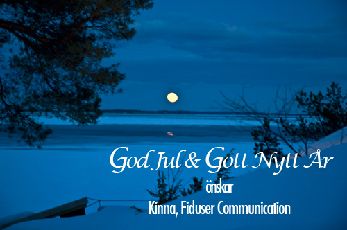 God Jul kort frn Fiduser Communication
