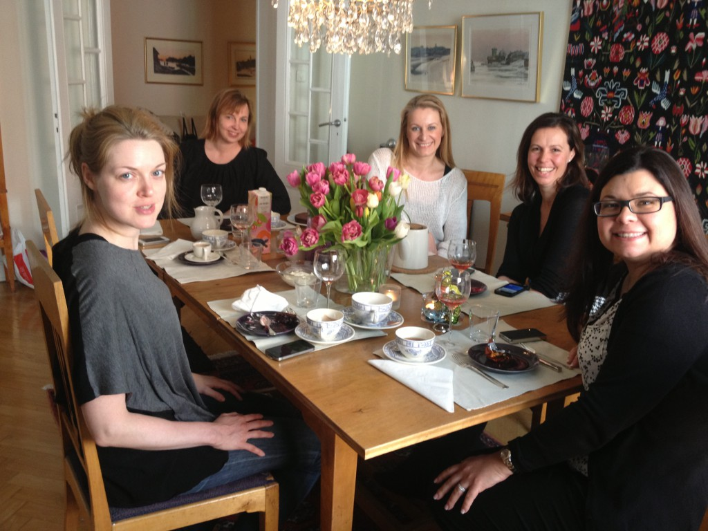 Brunch med partners